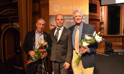 Jim Kirkpatrick, Mikael Borak från Mindset och Robert Brinkerhoff